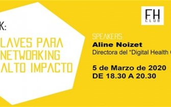 Future Health Club - 5 Claves para tu networking de alto impacto por Aline Noizet